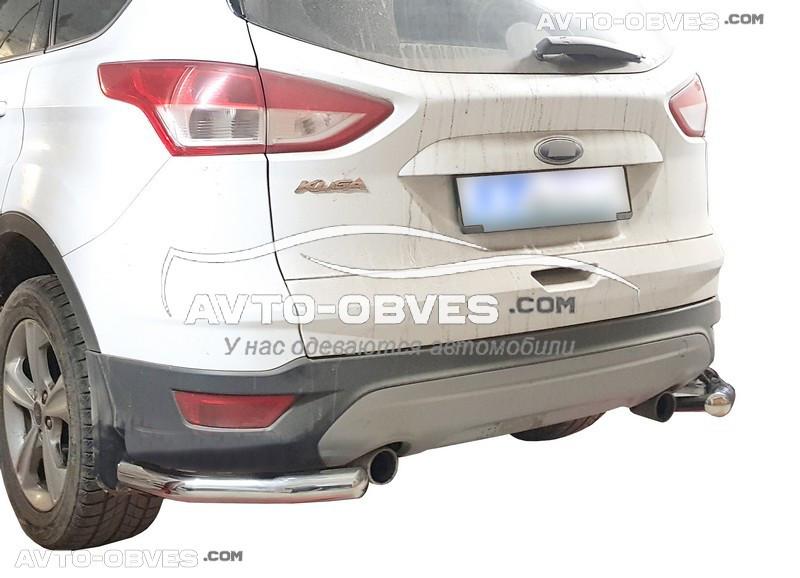 Защитные углы одинарные для Ford Kuga 2017-2020