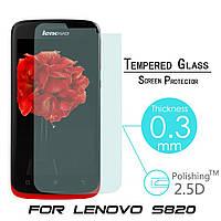 Защитное стекло для Lenovo S820 (0,25 mm 2,5D)