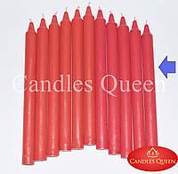 Свеча столовая красная 240х20 мм 30 шт, фото 1
