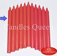 Свеча столовая красная (алый) 240х20 мм 30 шт, фото 1