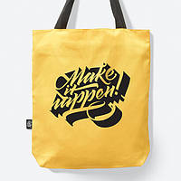 Сумка MAKE IT HAPPEN. YELLOW