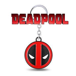 Брелок Дэдпул Deadpool Marvel  вариант второй круглый