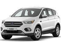 Защита заднего бампера Ford Kuga (2017 - ...)