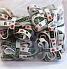 Силиконовые браслеты с печатью лого Я люблю Мандрувати, фото 2