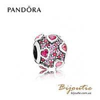 Шарм ВЗРЫВ ЧУВСТВ Pandora 796555CZSMX серебро 925 Пандора оригинал
