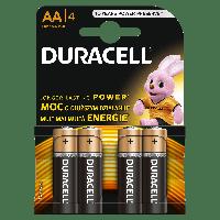 Батарейки Duracell Basic alkaline MN1500 AA LR6 1.5V 4шт Blister