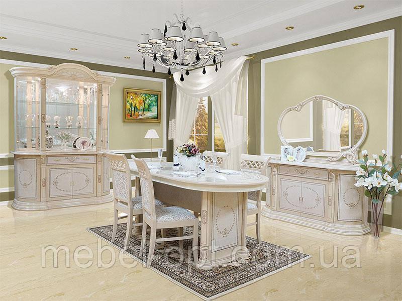 Стенка в гостиную Вивальди с декоративной подсветкой, модульная мебель в гостинную комнату Новинка