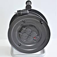 Удлинитель на катушке Длина 30м  (ПВС 2х2,5, 5 кВт) без заземления