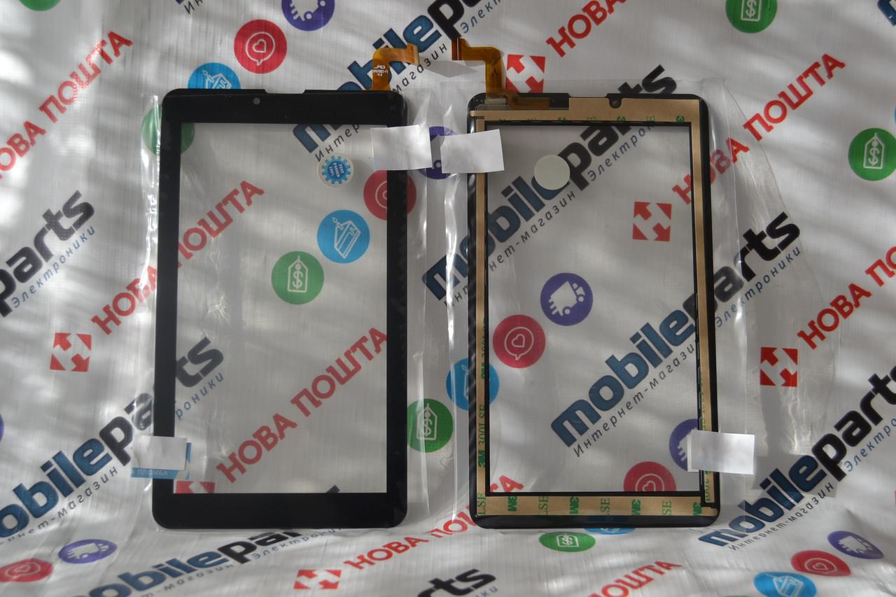 Оригинальный Сенсор (Твчскрин) для планшета Nomi WTCP-70760 Nomi C07004 | C07006 | C07009 (Черный)