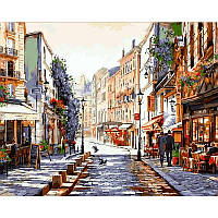 "VP776 Картина по номерам ""Монмартр. Париж"", 40*50 см, Babylon Turbo"