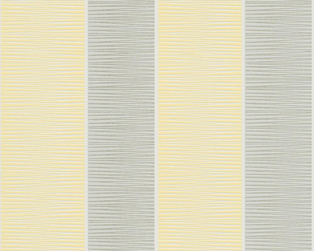 Обои с широкими полосами, пастельных оттенков 324552.