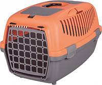 Trixie (Трикси) CAPRI 2, 37x34x55см, до 8кг - переноска для собак и кошек (коралловый)