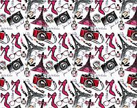 Подарочная бумага   Микс  5 картинок