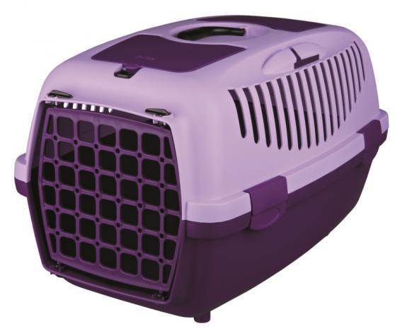 Trixie (Трикси) CAPRI 2, 37x34x55см, до 8кг - переноска для собак и кошек (сиреневый)