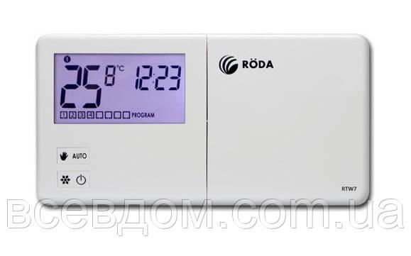 Проводной недельный программатор RODA R-RTW7