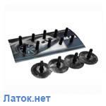 Вентиль для ремонта камер легковой с латкой ЛК-413  Россвик