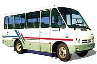 Лобовое стекло ДАЗ, ЧАЗ 3220