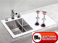 Кухонная мойка Alveus Crystalix 10L white I 86*54