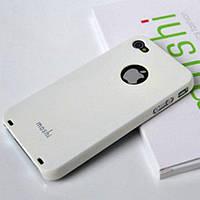 """Чохол Moshi iGlaze """"Snap on Case"""" HTC One V (T320e) White"""