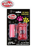 Контейнер с пакетами PetNova для уборки за собакой