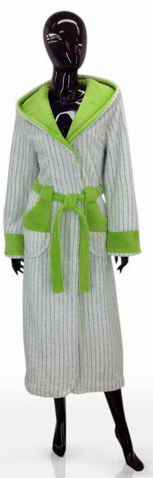 Красочный женский халат размер XXL SOFT SHOW COLLECTION 1204-94