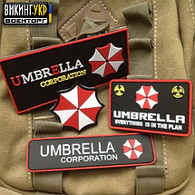 НАШИВКА UMBRELLA CORPORATION ПВХ, фото 3
