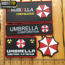 НАШИВКА UMBRELLA CORPORATION ПВХ, фото 2