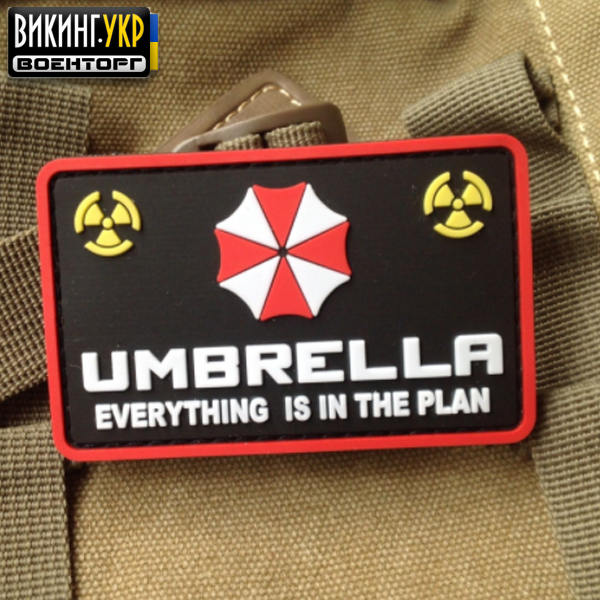 НАШИВКА UMBRELLA CORPORATION ПВХ