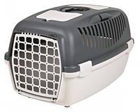 Trixie (Трикси) CAPRI 3, 40х38х61см, до 12кг - переноска для собак (серая)