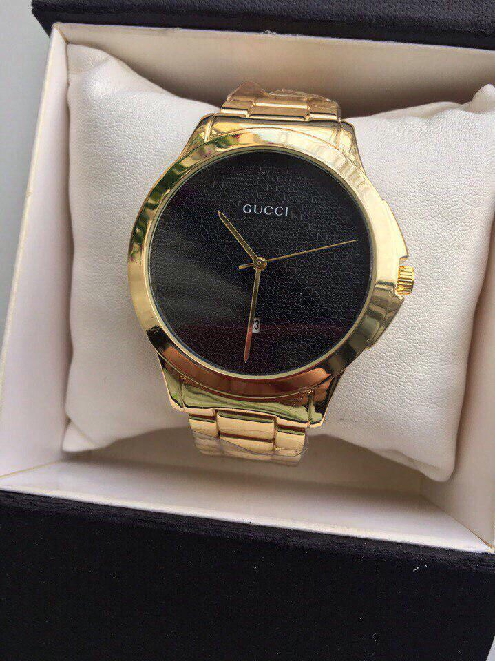 Универсальные Металлические Часы Gucci