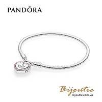 Pandora браслет СИМВОЛ ВАШЕЙ ЛЮБВИ 596586FPC серебро 925 Пандора оригинал