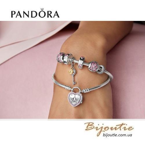 Pandora браслет символ вашей любви 596586fpc серебро 925 пандора