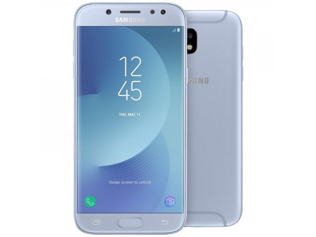 """Смартфон Samsung J530F Galaxy J5 2017 (SM-J530FZSN) Silver, 2/16Gb, 8 ядер, 13/13Мп, 5.2"""", 2 sim, 4G, 3000mAh."""