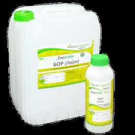 Бор Лайт - Бор (B) - 8,0 % удобрение для внекорневой / листовой  подкормки, сертификат органический стандарт