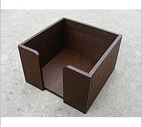 Салфетник коричневый 14х14х9см, СД1
