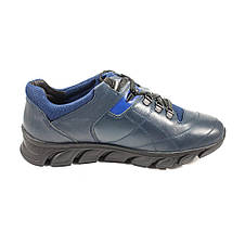 Кроссовки мужские MIDA 110041-29 синяя кожа, фото 2