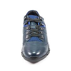 Кроссовки мужские MIDA 110041-29 синяя кожа, фото 3