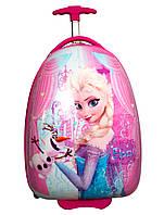 Детский пластиковый чемодан Дисней Холодное сердце Эльза Disney Frozen Elsa