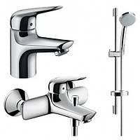 Набор смесителей для ванны Hansgrohe Novus 70 710242773