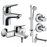 Набор смесителей для ванны Hansgrohe Novus 70 710242775