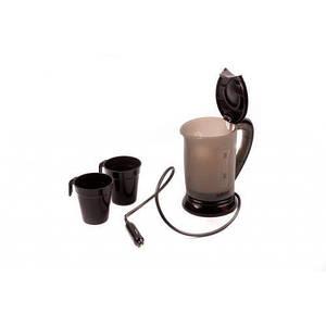 Автомобильный чайник авточайник 12v A-plus ( черный )