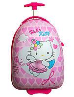 Детский пластиковый чемодан Hello Kitty (Хелло Китти)