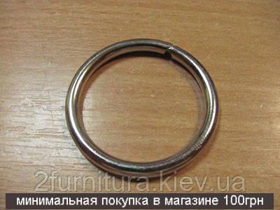 Кольца для сумок (31мм) никель, 10шт 4334