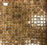 Мозаика с авантюрином коричневая Vivacer G18