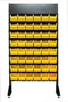 Стеллаж для запчастей с логотипом 1.8 м
