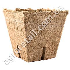 Торфяной горшочек Jiffy квадратный 8x8 см