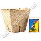 Торфяной горшок Jiffy квадратный 8x8 см, фото 3