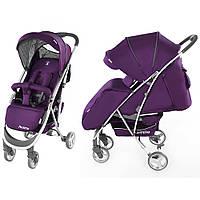 Коляска прогулочная CARRELLO Perfetto Purple с подстаканником