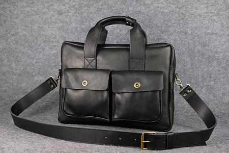 Портфель с карманами |10191| Черный