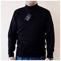 Мужской свитер гольф под горло с воротником стойка. черный, Турция, фото 1